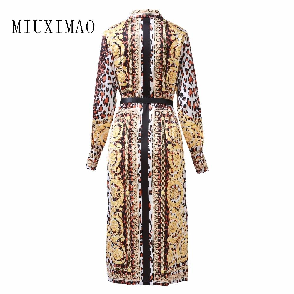 mollet Robe Plus Style Élégant down Dernière ligne Collar Longue Décontracté Taille 2019 A Mi Manches Imprimer Turn Pleine Femmes Custom ETxnqwdOCT