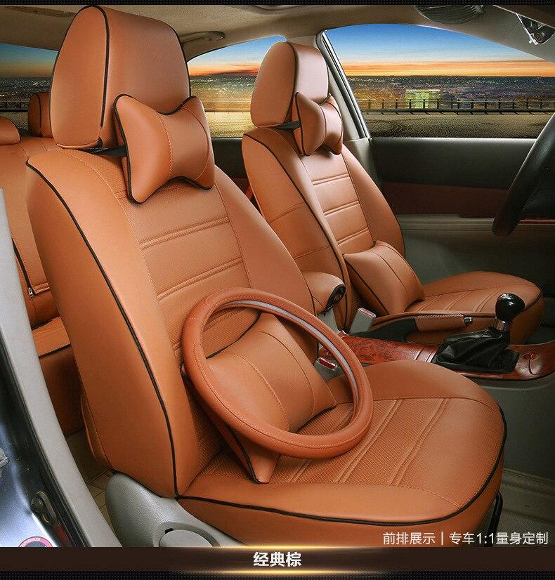 PER IL VOSTRO GUSTO accessori auto personalizzata seggiolino auto pelle copre per MITSUBISHI Grandis Mitsubishi ASX Lancer EVO IX dx 7 lancer