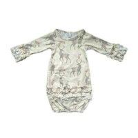 Органический хлопок детская одежда Одежда для новорожденных Детский комбинезон