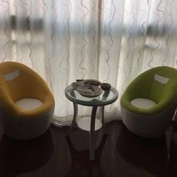 Индивидуальный Мини креативный поворотный стул ленивый диван Одноместный спальня круглый Прекрасный Девочка Детский Маленький Балконный