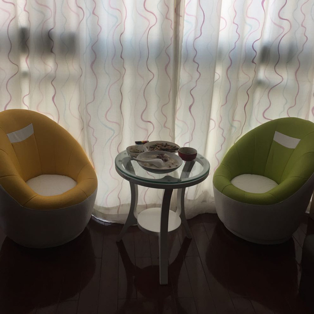 Personality Mini Creative Rotary Chair Lazy Sofa Single Bedroom Round Lovely Girl Children's Small Huxing Balcony LM6041139py