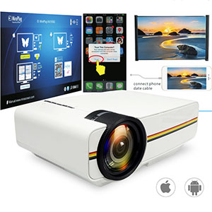 ThundeaL YG400 YG400A Mini Projector With 1800 Lumen and Built-in Speakers 2