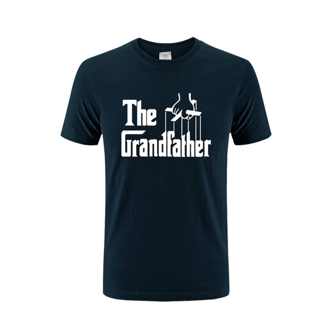 5d6bef3b Cool Tops Men Birthday Present Gift The Grandfather T Shirt For Grandad  Fathers Day Funny Spoof T-shirt Father's Day Tshirt Tee
