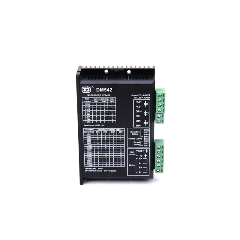 Leadshine 2 Phase Analog Stepper Driver M542 Max 50 VDC 4.2A for Stepper Motor NEMA 23 free shipping leadshine 2 phase analog stepper driver m542 max 50 vdc 4 2a for stepper motor nema 23 nema 17 motors