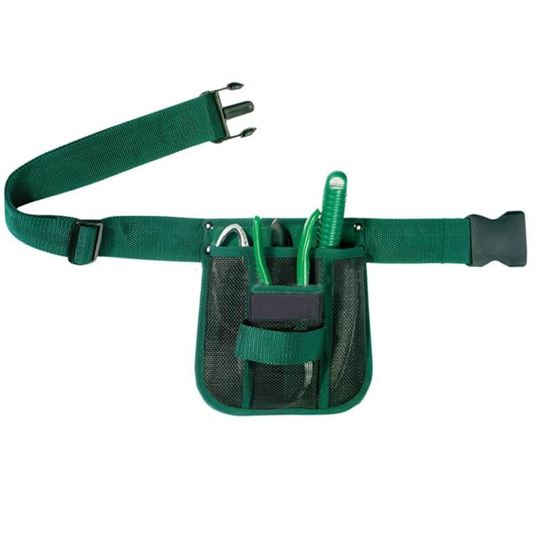 hoomall jardn cinturn colgando bolsas de bolsas de cuero kit de jardinera bolsillos bolsa de