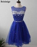 Stock Royal Blue Short Homecoming Dresses 2016 Cheap Cute 8th Grade Graduation Dresses For High School