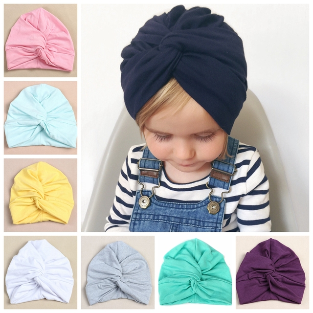 12 pcs/lot, Solid Color Twist Turban Hat , Hair Covering Hijab, Stretch Full Turban Headwrap