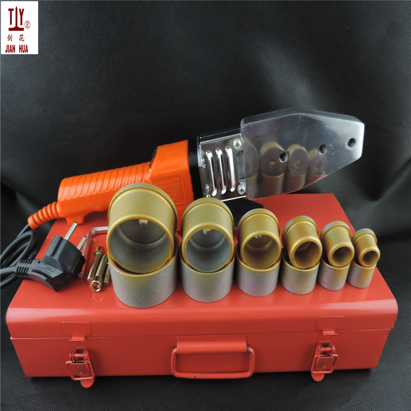 New 20-63mm plastic pipes apparatus, ppr Machine for welding, water termofusion New 20-63mm plastic pipes apparatus, ppr Machine for welding, water termofusion