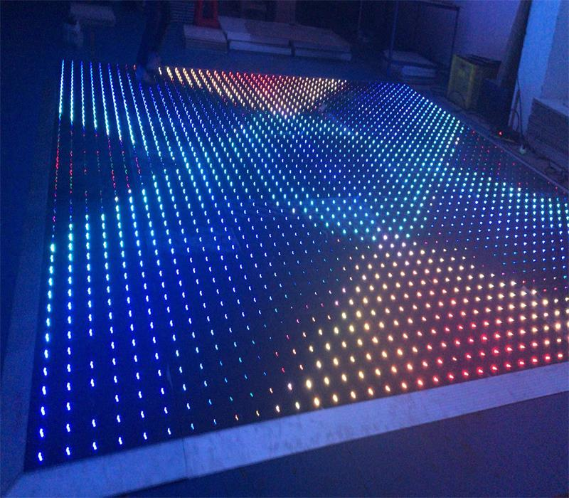 Arylic Disco Stage P10cm Outdoor Rgb Dance Tiles Led Video Dance