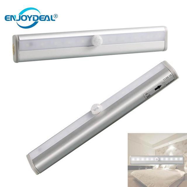 10LED AAA LED Lamp 6000 k/4500 k Energiebesparing Motion Sensor ...
