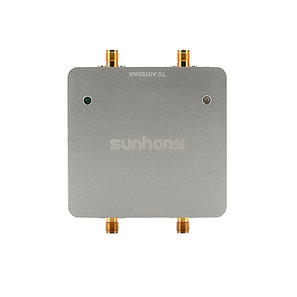 SUNHANS SH24Gi1000-D2 Dual Antenna WiFi Signal Booster 1000mW 30dBm 2.4 GHz 2T2R/ 300Mbps IEEE 802.11b/g/n WiFi Signal Amplifier