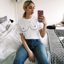 Boobs T-shirt Cotton