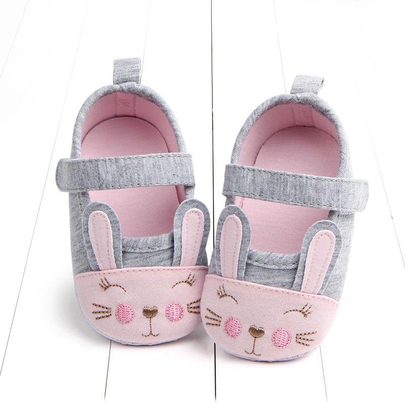 Toddler Newborn Baby Girls animal print casual Soft Sole