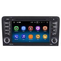 Android 8,1 для Audi A3 S3 RS3 2003 2013 авто DVD Радио Стерео gps навигации Navi носители мультимедийного Системы PhoneLink