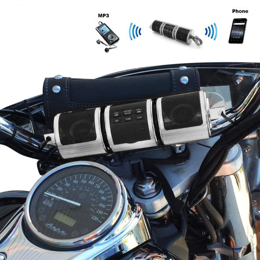 2017 Motorcycle Audio System Speakers Handlebar Audio