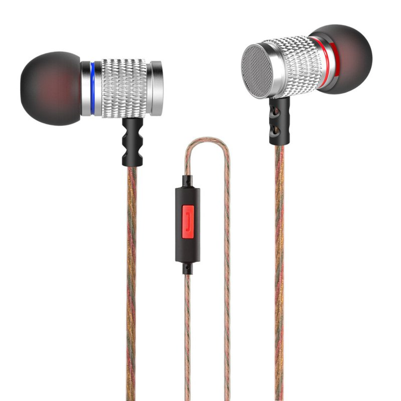 New Hot KZ EDR2 Bass In Ear Earphone Metal Sound Music earbud Wired Hifi Headset Enthusiast