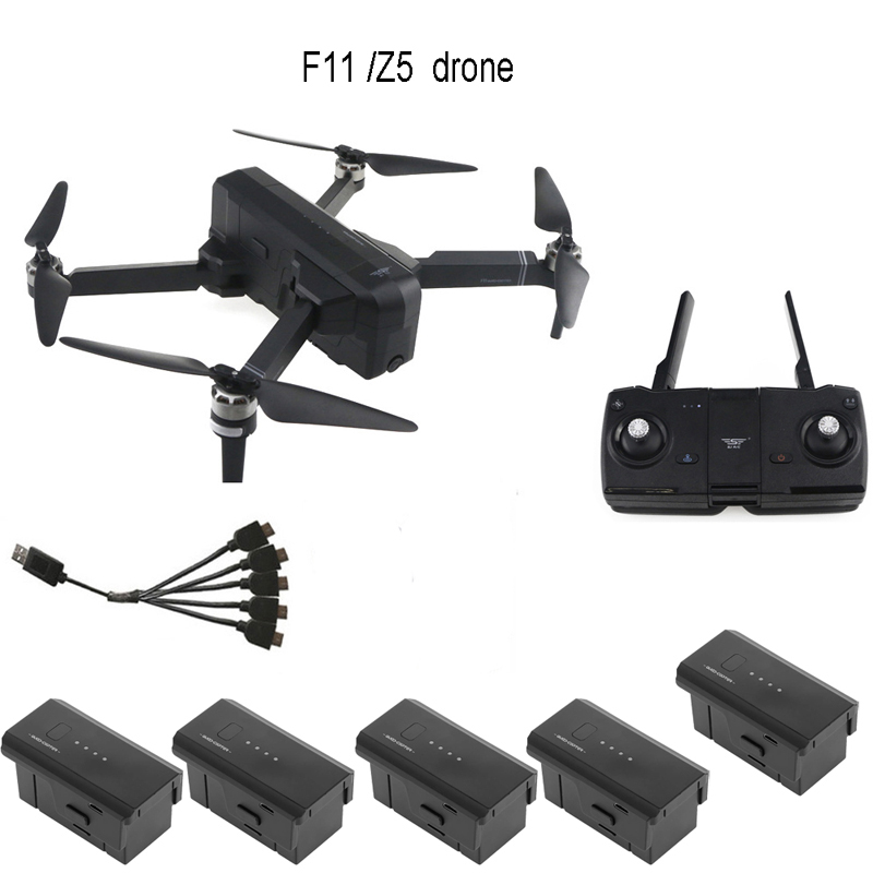 SJRC Z5 /F11 GPS 5G Wifi FPV Drone With 1080P Camera 25mins Flight Time Brushless Motor Foldable Arm Selfie RC Drone Quadcopter
