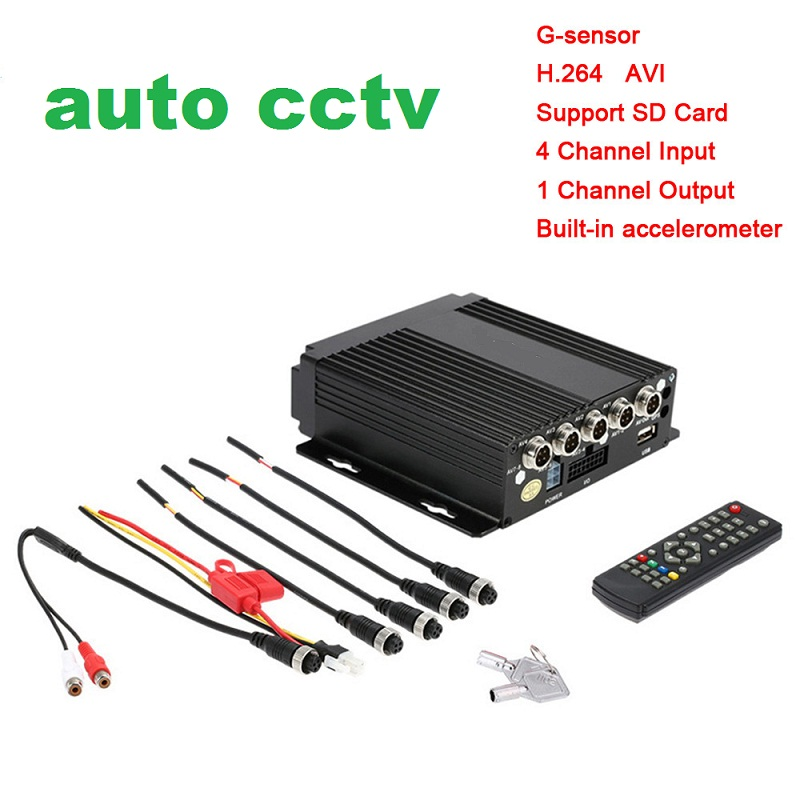 DVR 4 Channel Stand Alone 4CH H.264 Real-Time DVR Security Digital Video Recorder For CCTV System цена