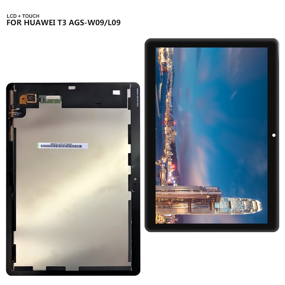 Lcd-Display Touch-Screen Digitizer-Assembly--Tools Huawei Mediapad AGS-W09 for T3 10-ags-l03/Ags-l09/Ags-w09/..