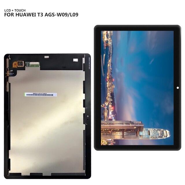 """9.6 """"Đối Với Huawei Mediapad MediaPad T3 10 AGS-L03 AGS-L09 AGS-W09 T3 LCD hiển thị màn hình cảm ứng digitizer hội + công cụ"""