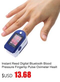Gustala Automatic Digital Sphygmomanometer Wrist Cuff Arm Blood Pressure Monitor Meter Gauge Measure Portable Bracelet Device 5