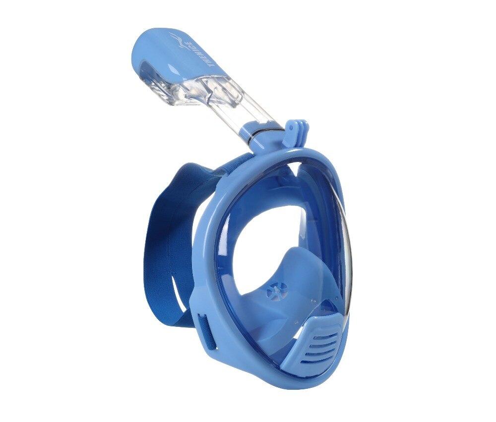 ¡Envío Gratis! Los niños snorkel máscara de buceo de la nariz de buceo conjunto de espejo anti-niebla snorkel máscara XS niño 2 modelos - 2