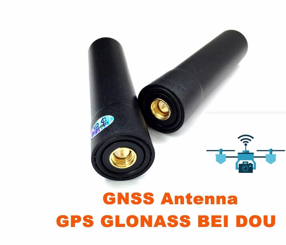 2 PCS de Lumière De Haute précision GNSS Hélicoïdale Antenne GPS, RTK UAV GNSS spirale omnidirectionnelle antenne, Support GPS GLONASS BDS