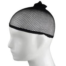 1Pc Men Women Stocking Wig Liner Cap Snood Nylon Stretch Mesh Hollow Hat Newest(China)