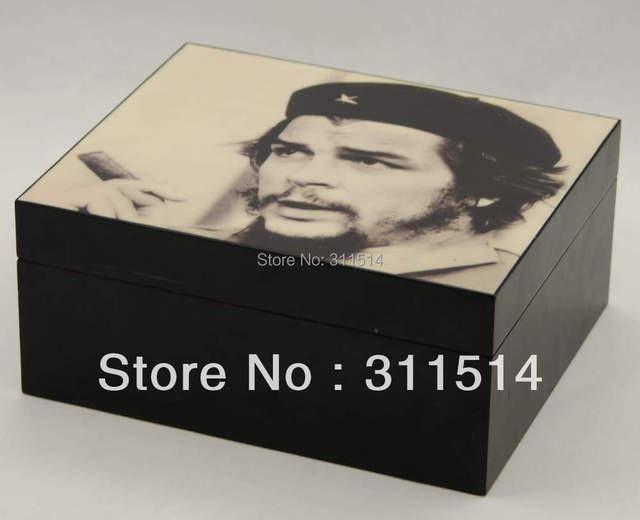 FREE SHIPPING!! High quality 25CT CHE wooden cigar humidor cigar box