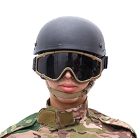 Outdoors Military Tactical Airsoft Fan Goggles Shock Resistance Eyes Protection Eyewear Sports Glasses For Hunting Shooting