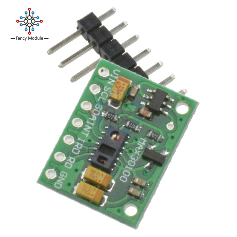 GeïMporteerd Uit Het Buitenland Max30100 Hartslag Klik Oximeter Pulse Sensor Pulsesensor Module Voor Arduino