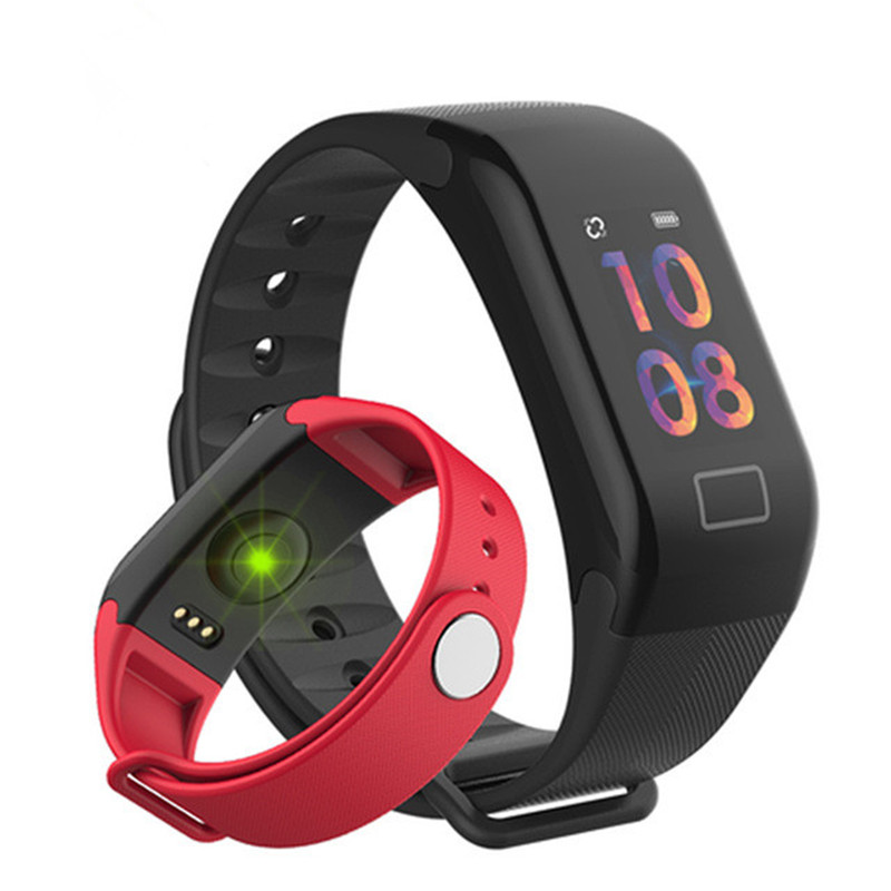 Sport Watch Fitness Bracelet Bluetooth Color Screen Sport Watch Wrist Band Smart Watches Heart Rate Tracker Digital Watches