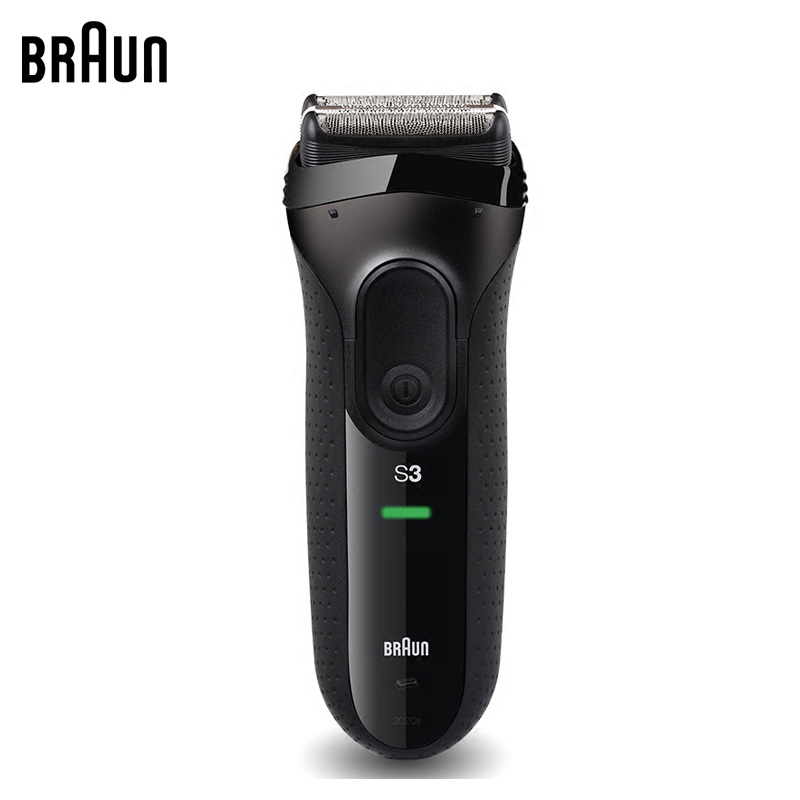 Electric Razors Braun Series 3 Electric Shavers 3020S Blades Reciprocating Shaving Machine Electric Razors For Men Hair Trimmer braun electric shavers 5030s rechargeable reciprocating blades high quality shaving safety razors for men
