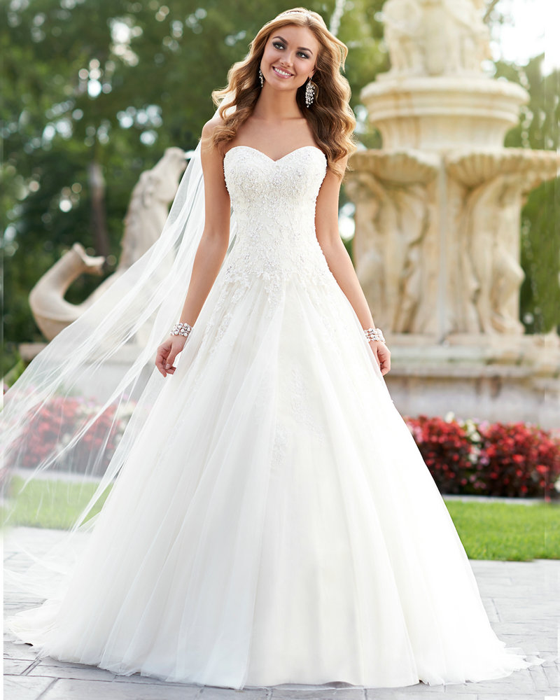 Beautiful Princess Wedding Gowns: Women Wedding Dress Ball Gown Princess Weding Dresses