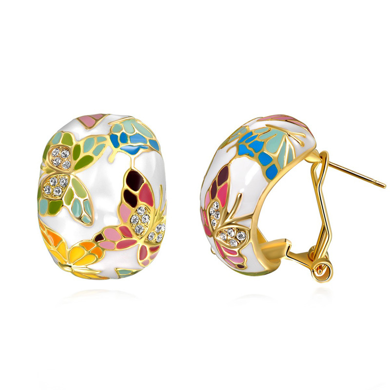 aliexpress buy austria enamel earrings