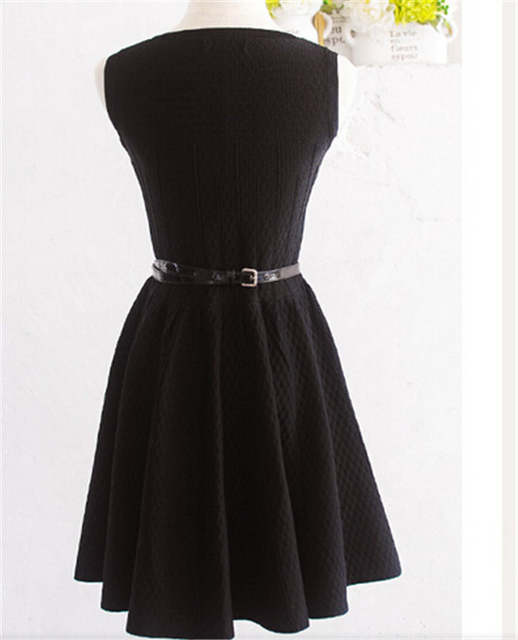 Fashion Elegant Audrey Hepburn Dress LBD 50S 60S Vintage dress Rockabilly Hepburn s  Little Black Dress 48d3d83bd202