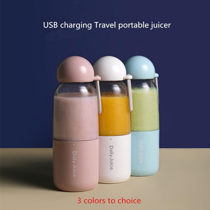 350ml USB Mini Portable 9s Juicer Bottle Juice Blender Lemon vegetables fruit Squeezers Reamers Bottle Drop Shipping