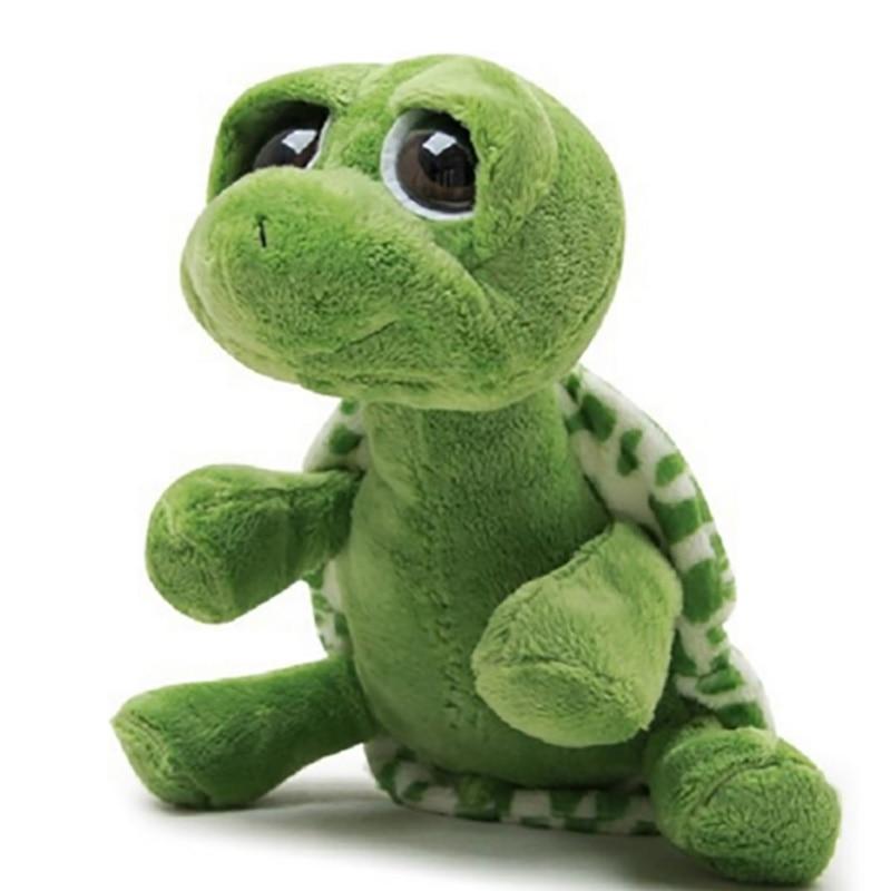 Small Size Big Eyes Stuffed Tortoise 20 cm Turtle Stuffed Plush Animals Super Green Animal Plush Baby Toy Gift