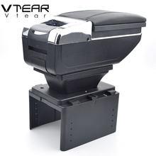 Vdéchirure – accoudoir intérieur pour Renault logan 2/Megane/twingo, boîte de rangement, boîte de rangement centrale des produits, pièces d'accessoires
