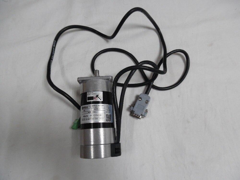 Leadshine 130W 36V DC Brushless Motor Servo BLM57130 0.41N.M 3000rpm New Original