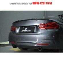 F32 углеродного волокна задний багажник спойлер крыло для BMW 4 серии F32 купе 2-двери- Non-M4