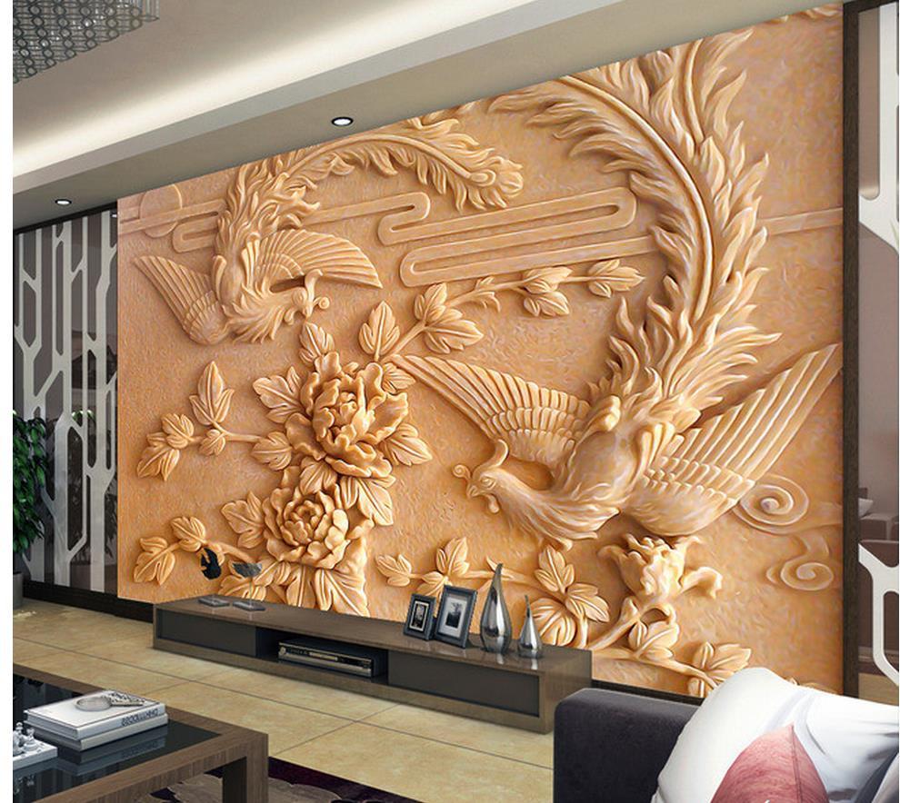 3d Wall Murals Wallpaper Home Decoration Design Of Tv