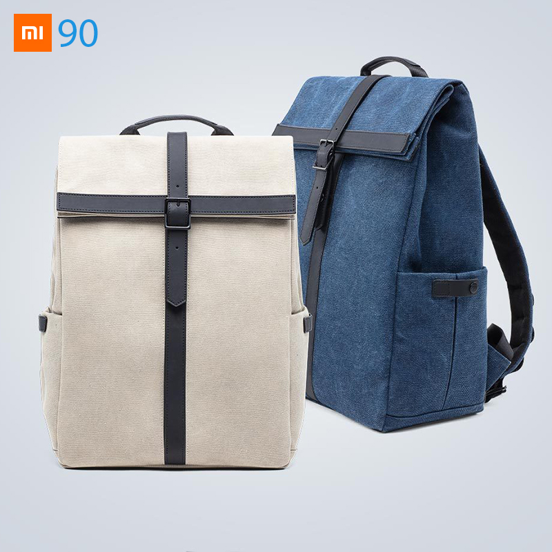 Xiaomi Mijia Youpin 90S POPULAR Grinder Oxford Casual Backpack Laptop Traveling Bag 400 320 150mm