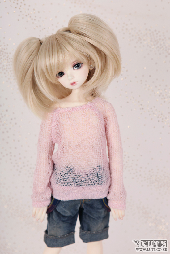 1/4 scale BJD lovely kid BJD/SD LUTS Delf cute sweet girl KIWI figure doll DIY Model Toys.Not included Clothes,shoes,wig кукла bjd luts bjd sd 1 4 kid delf