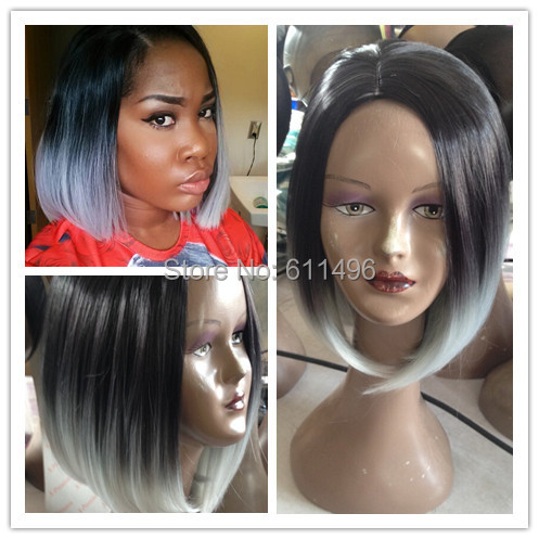 Grey And Black Hairstyles Grey Hair Trend 2017