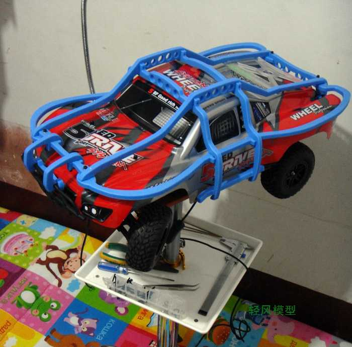 rc car parts ,Remote control car roll cage, Protective cover Imported nylon  production Suitable for TRAXXAS Slash or Slayer pro