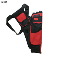 3 Tubes Archery Arrow Quiver For Hunter Outdoor Hunting Target Shooting Training Sport Games 4 Colors Waist Arrow Bag Holder