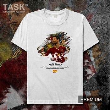 Xabi-Camiseta para hombre, camiseta de barman, camiseta de fútbol estrella de España,...