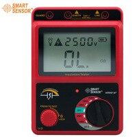 Smart Sensor AR907A+ 100 2500V Insulation Resistance Tester Digital Megohmmeter AC / DC Voltage Tester Ohm Meter