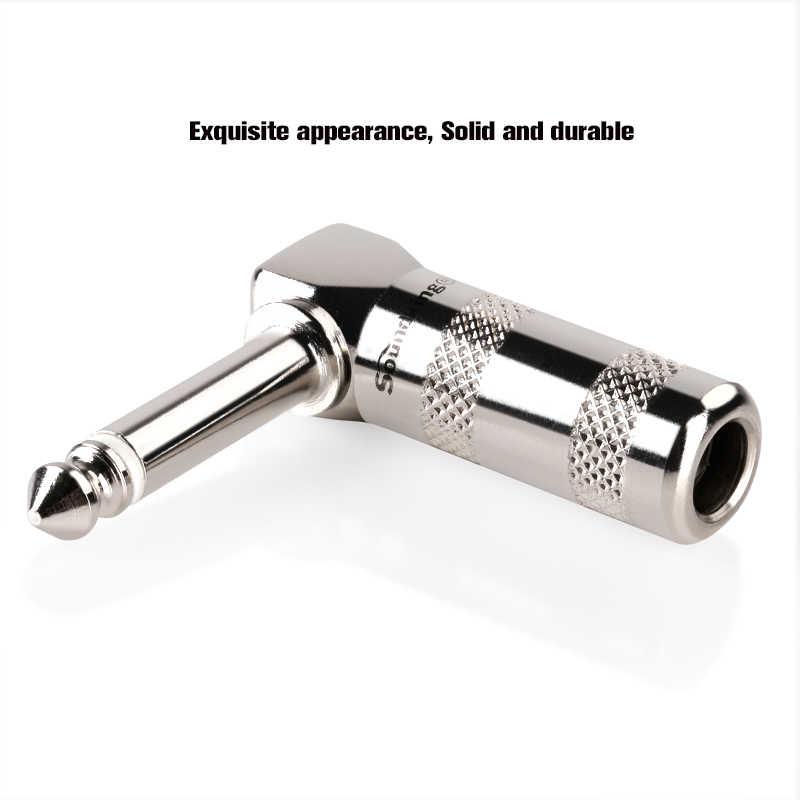Soundking 6,35 мм сварочный разъем 6,3/6,5 jack Акустический кабель аксессуары с матальной оболочкой инструмент сварочный разъем C24